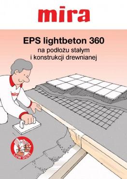 EPS lightbeton 360 na podłożu stałym i konstrukcji drewnianej