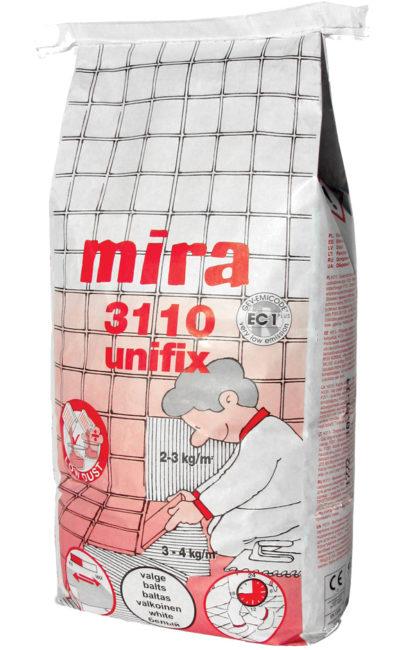 Klej do płytek Mira 3110 unifix