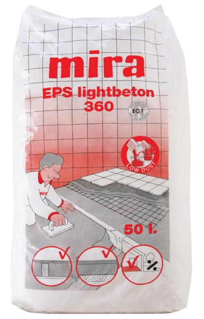 Lekki beton Mira EPS lightbeton 360