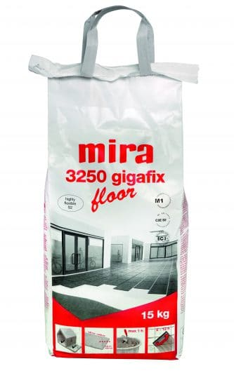 Klej mira 3250 gigafix floor (klej biały do spieków) C2E S2